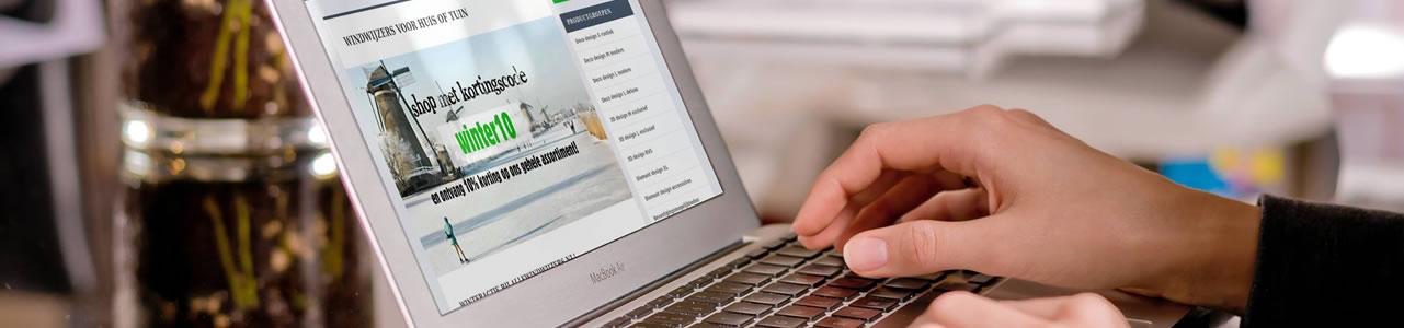 Betaal mogelijkheden in onze webshops